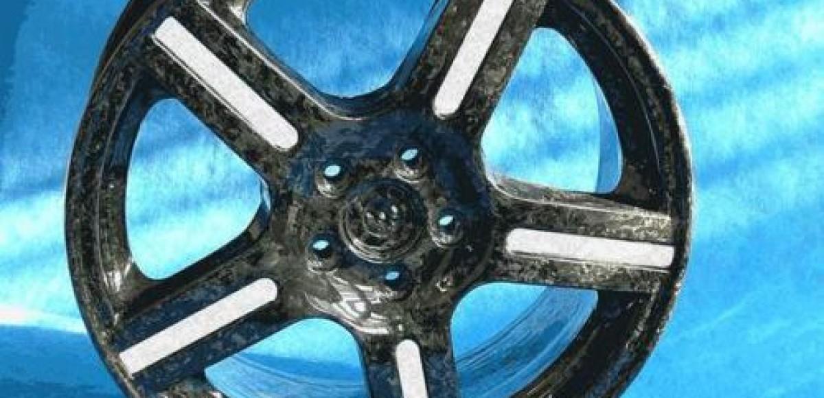 Компания Weds Sport создала колеса из карбона