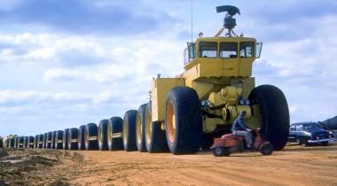 LeTourneau Overland Train: автопоезд Апокалипсиса