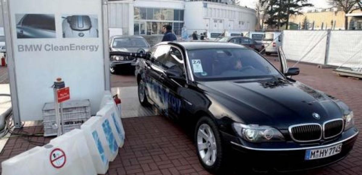 BMW Hydrogen 7 – официальный автомобиль XIV конференции ООН об изменении климата