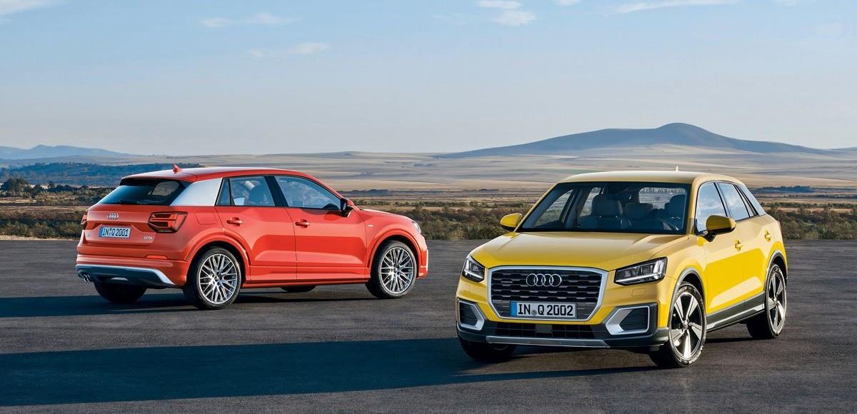 Audi Q2. Без комплексов