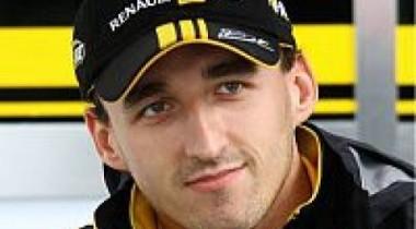 Роберт Кубица  видит Renault перед Ferrari