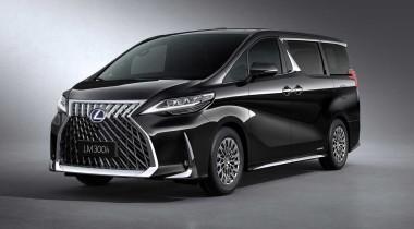 Lexus LM: минивэн для двоих