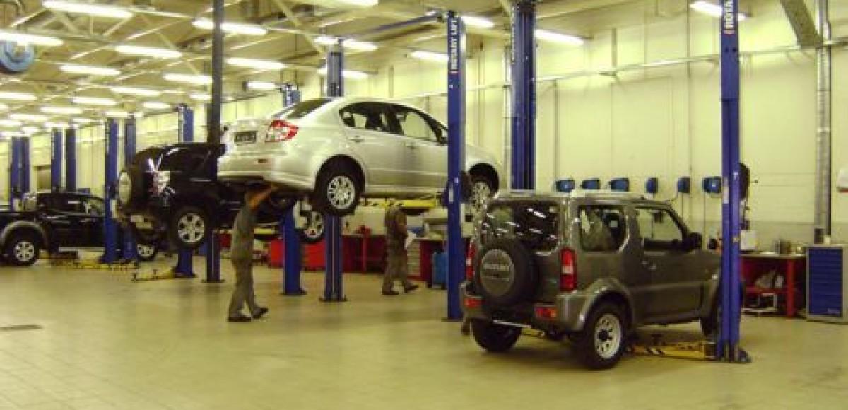 Сервис Suzuki в «Автомире». Подменное авто бесплатно