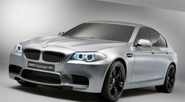 Появились первые фотографии BMW M5 Concept