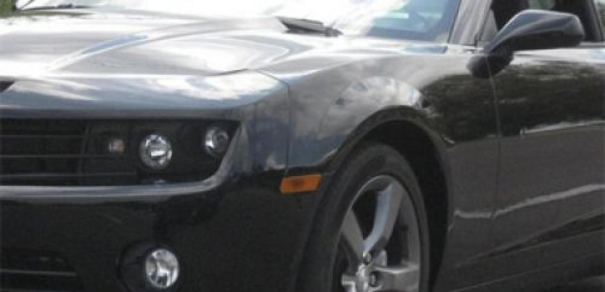 В Лас-Вегасе покажут Chevrolet Camaro Black