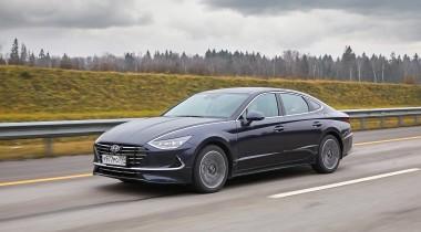 Hyundai представила в Москве седан Sonata нового поколения