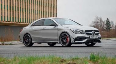 Mercedes-AMG CLA 45. День безразличия