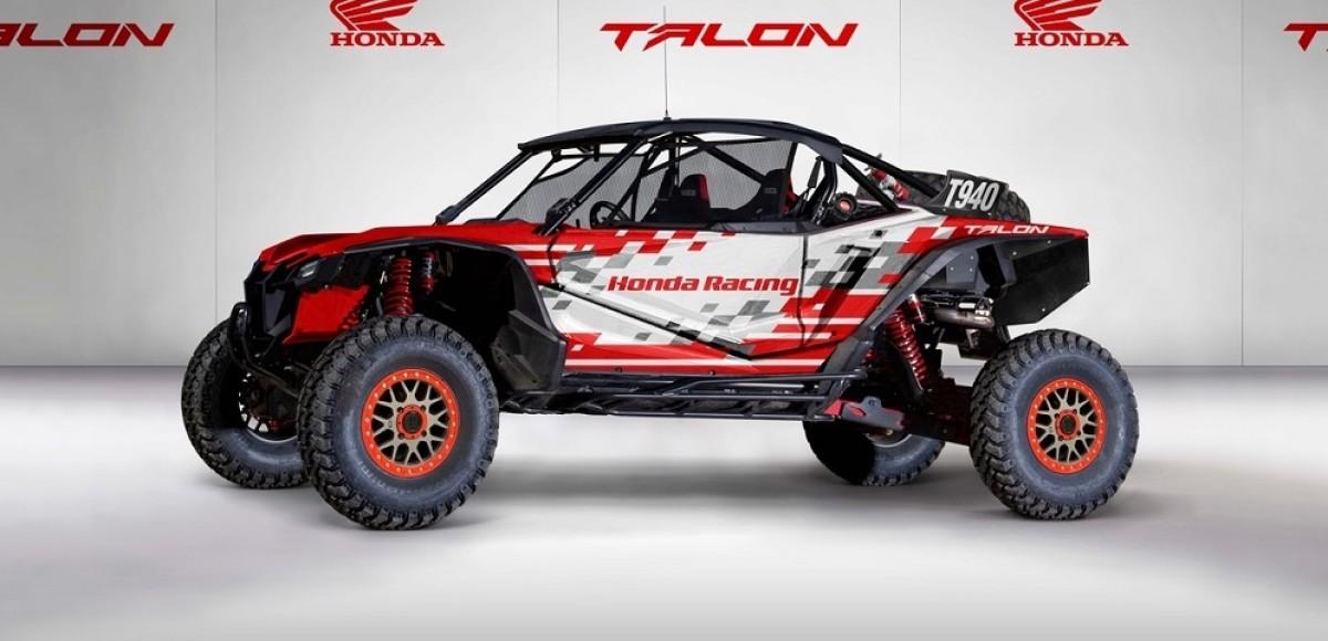 Honda анонсировала появление новой мотовездеходной  гоночной команды