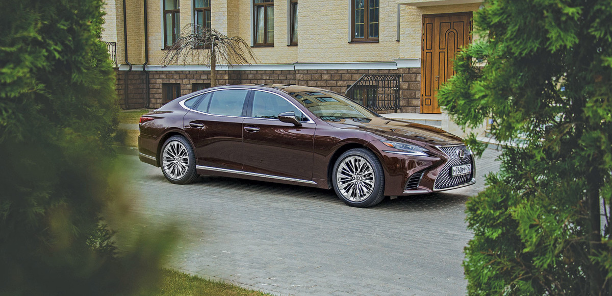 Lexus LS 500. Чем удивляет новый флагманский седан от «Лексус»
