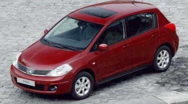Новый Nissan Tiida теперь и в России