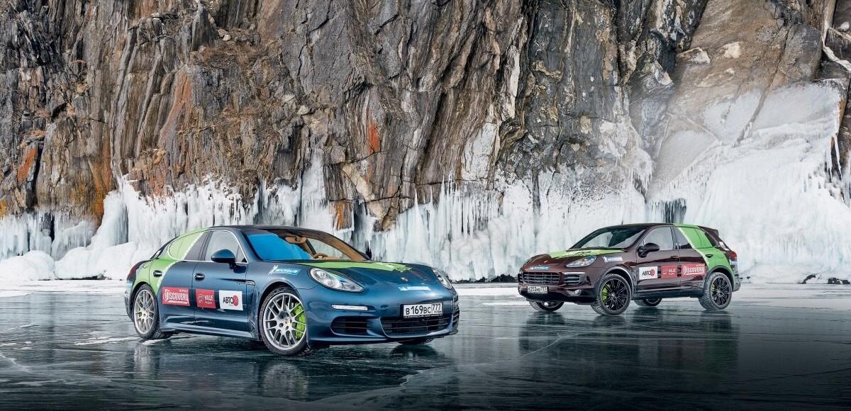 Плюс электрификация: на гибридах Porsche в Сибирь