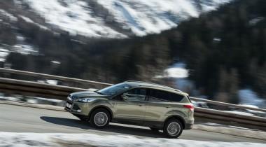 Новые варианты кроссовера Ford Kuga для России