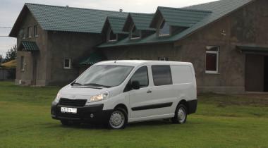 Peugeot Expert Profi Transformer: между фургоном и автобусом
