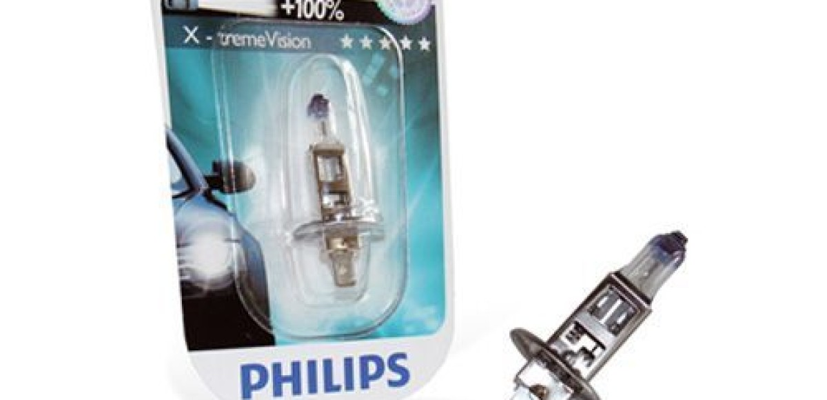 Автомобильная лампа Philips X-tremeVision. Больше света