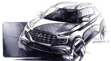 Hyundai покажет маленький кроссовер Venue