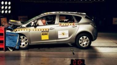 2010 Opel Astra получила «пять звезд» в краш-тестах Euro NCAP