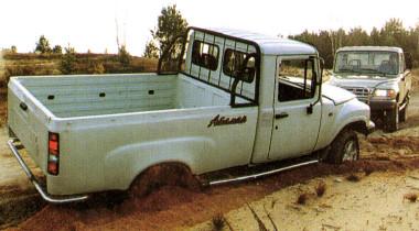 ГАЗ 2308 «Атаман». Колосс на глиняных ногах