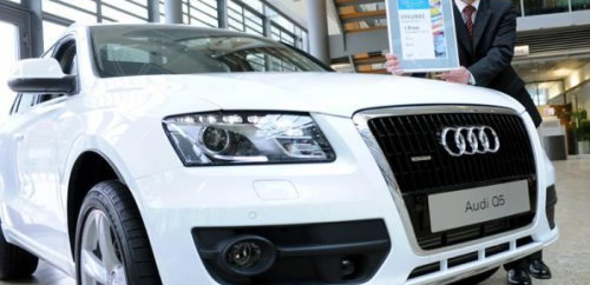 Audi Q5 получил премию «TOPauto» как лучший внедорожник 2009 года