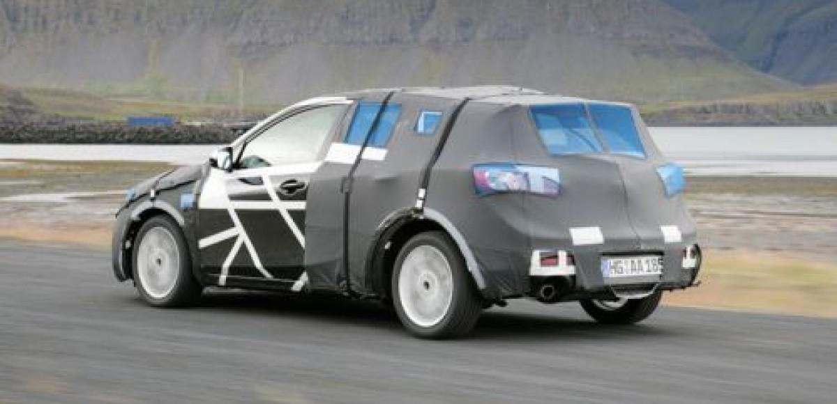 Хэтчбек Mazda3. Шпионские фото