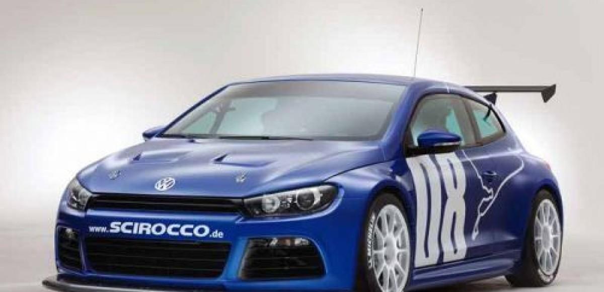 Volkswagen представил гоночный Scirocco