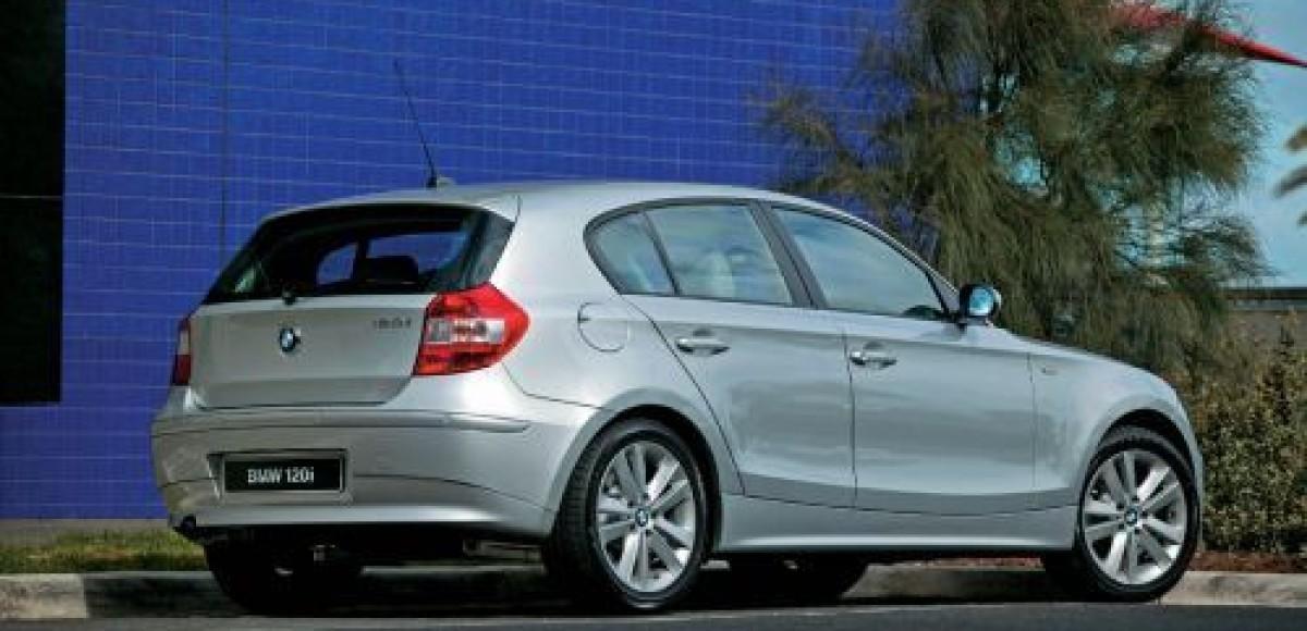 Купе BMW 1-й серии получило премию «Золотой руль – 2008»