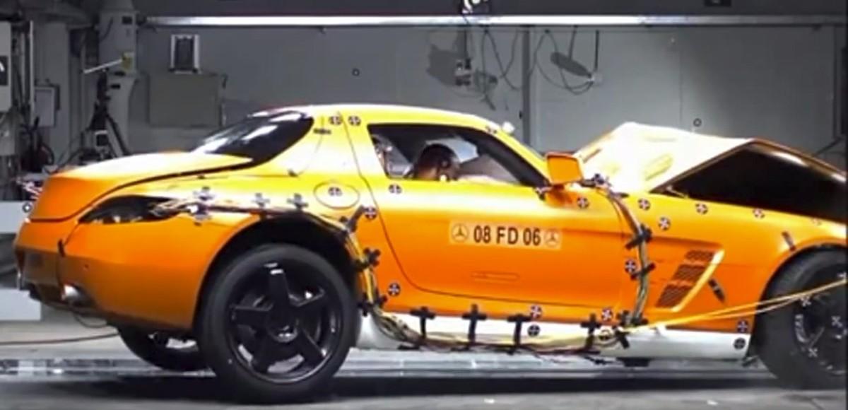 Аварии с суперкарами: видео-подборка