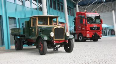 Столетний юбилей: первый грузовик MAN