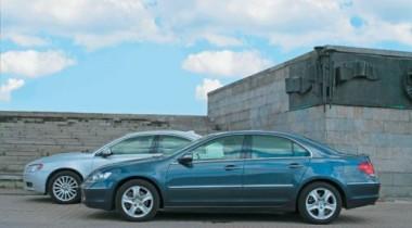 Honda Legend vs Volvo S80. Тест на IQ