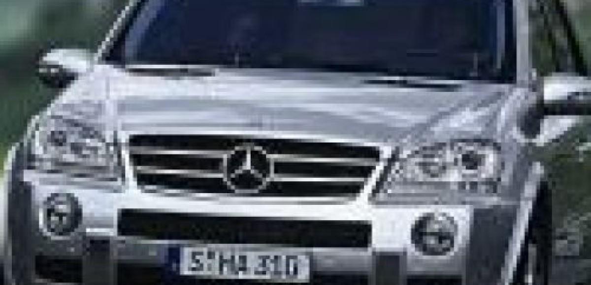 Mercedes-Benz ML (1997–2005 гг.)