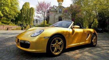 Porsche 911 — просто золотой кабриолет