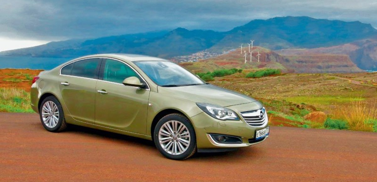 По Мадейре на Opel Insignia