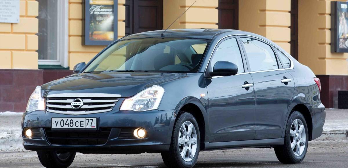 Nissan приступил к производству Almera 2014 модельного года