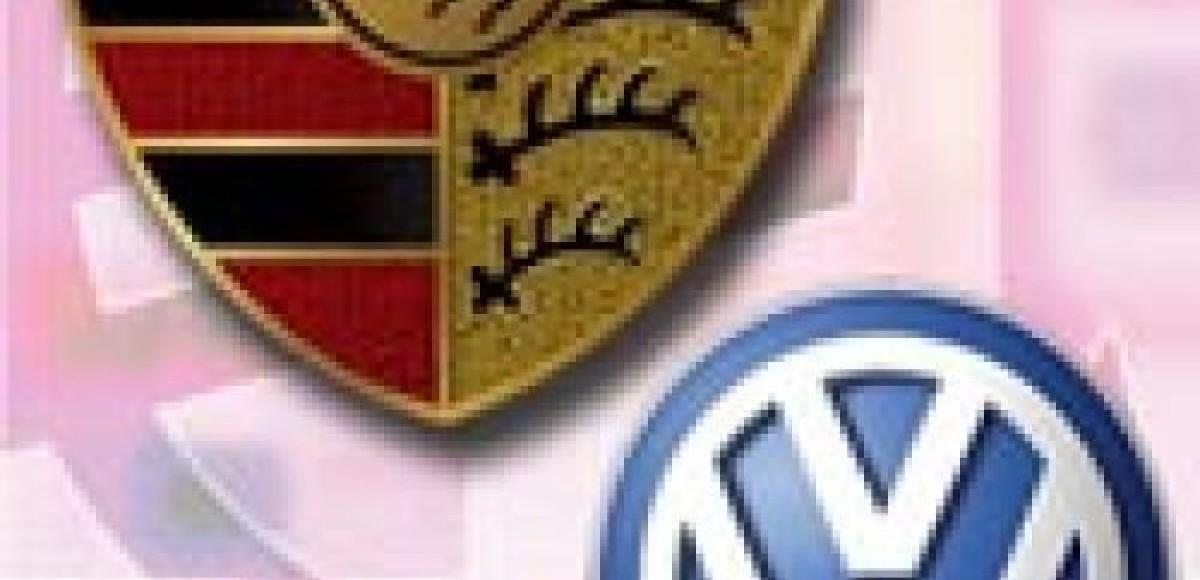 Porsche никак не может договориться с Volkswagen об объединении