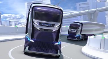 Isuzu создала беспилотный грузовик