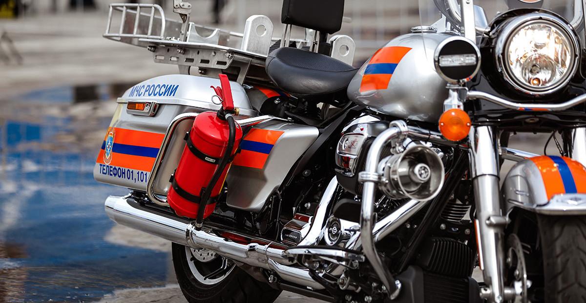Крутые спасатели: зачем МЧС мотоциклы Harley-Davidson