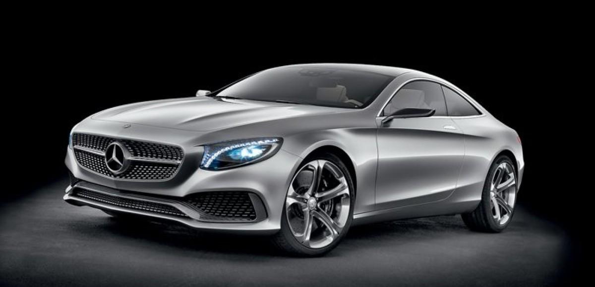 Mercedes-Benz S-class Coupe. Лишние буквы