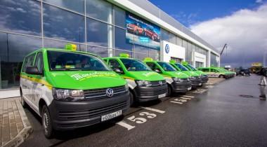 «ТаксовичкоФ» выбирает Volkswagen