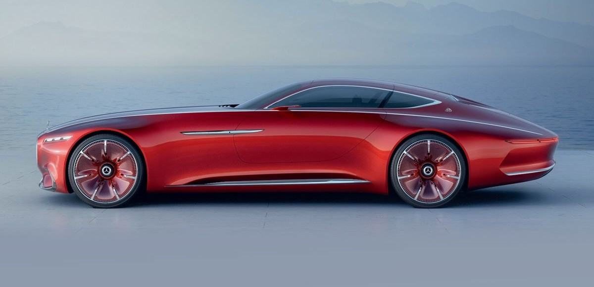 Vision Mercedes-Maybach 6. Машина времени