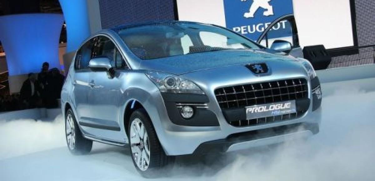 Peugeot демонстрирует у себя на родине кроссовер Prologue HiMotion4