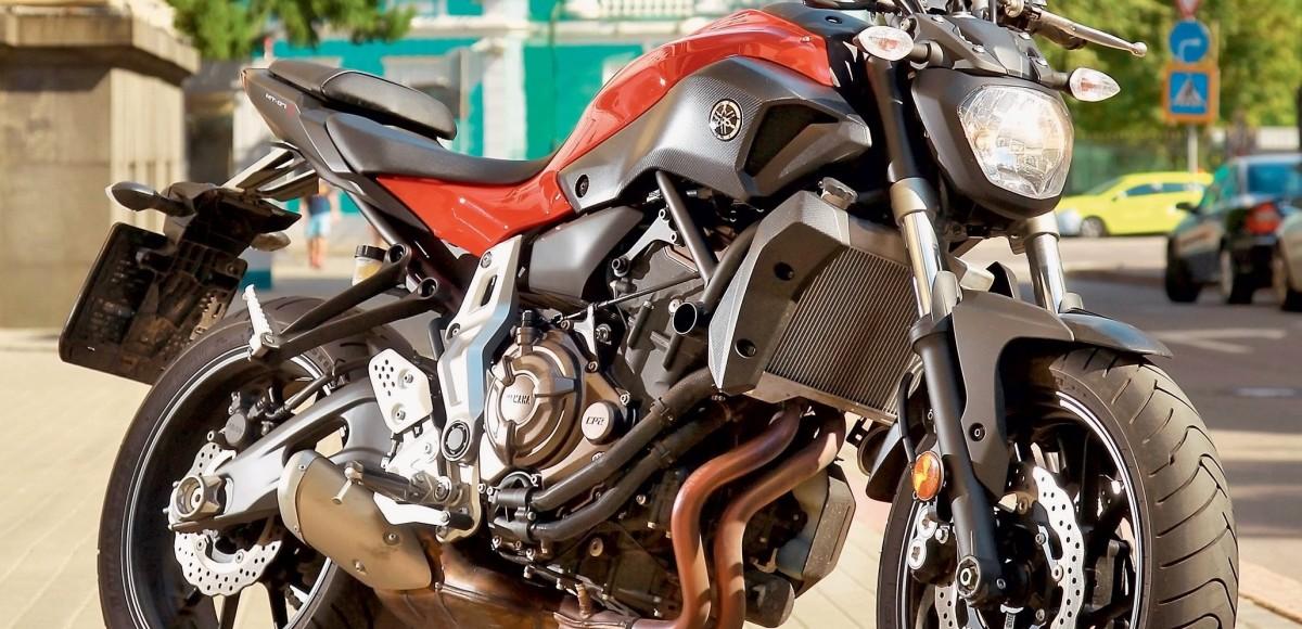 Yamaha МТ-07. Светлая сторона тьмы