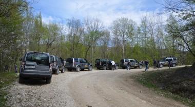 Land Rover в Адыгее