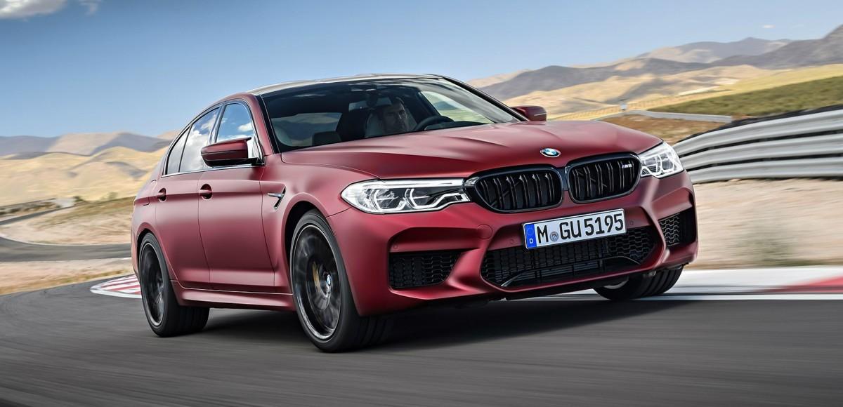 Новая BMW M5 оказалась доступнее, чем E63 AMG