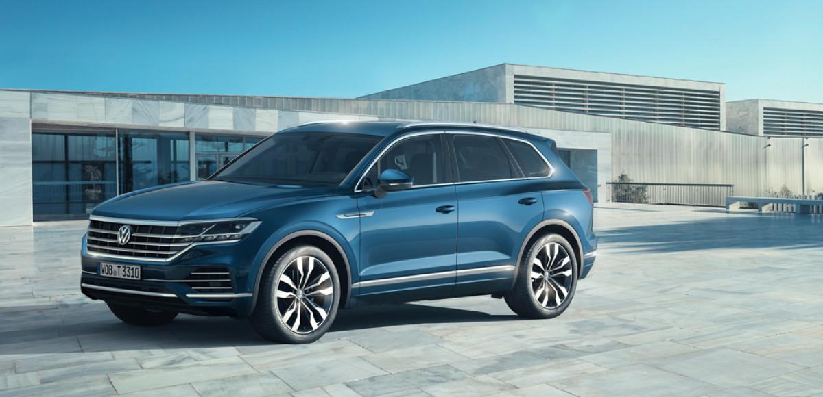 Объявлена цена нового VW Touareg для России