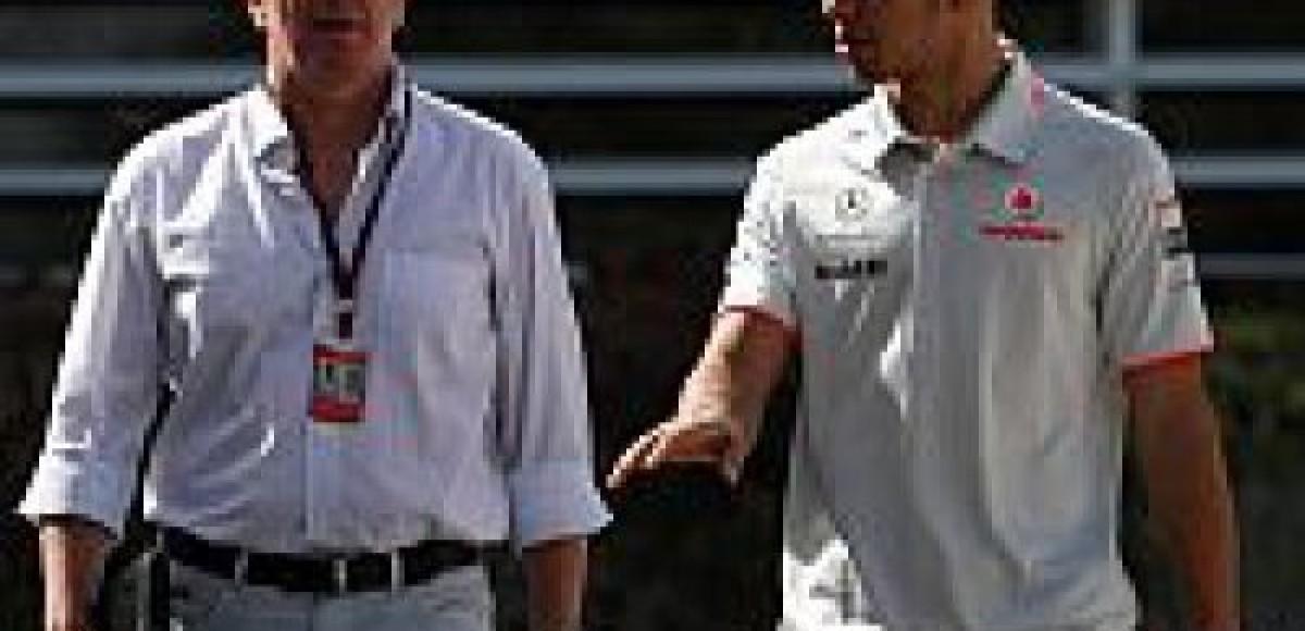 Мартин Брандл:  «Хэмилтон не навредил Ferrari»