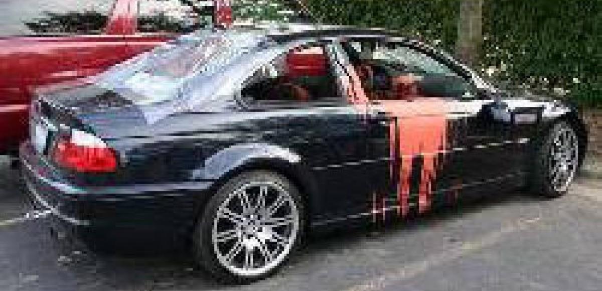 В Брянске от рук хулиганов пострадали 25 машин