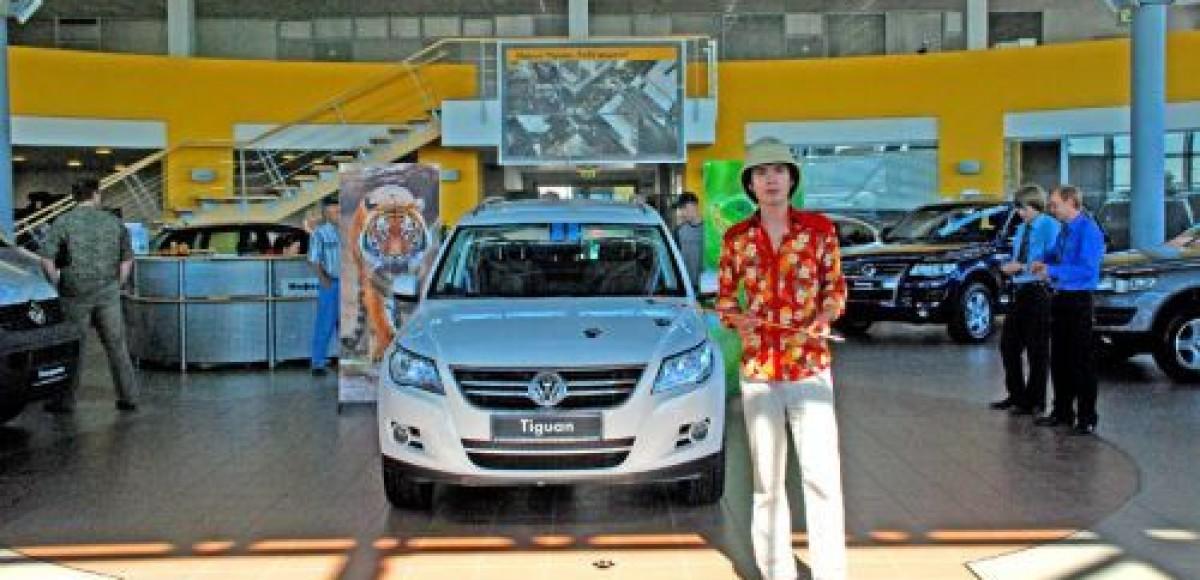 Volkswagen Tiguan. Дни Открытых Дверей в «Фольксваген Центре Пулково»