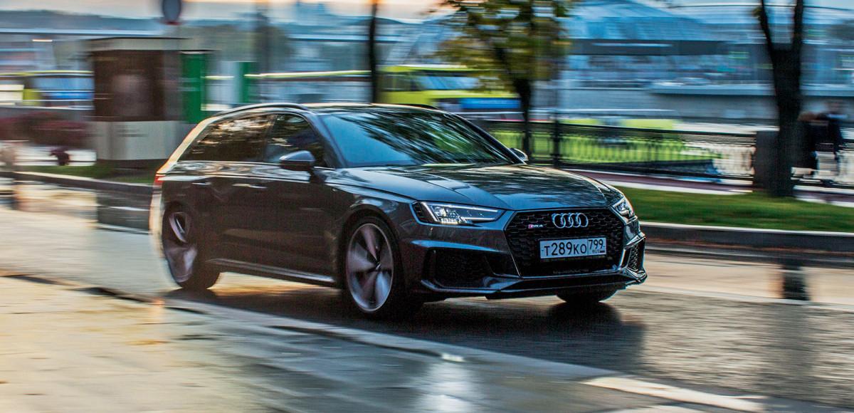 Тест-драйв Audi RS4 Avant: бешенный «сарай»
