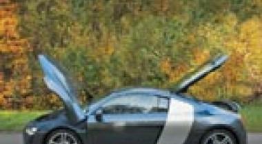 Audi R8 4.2 FSI Quattro. Сильный ход