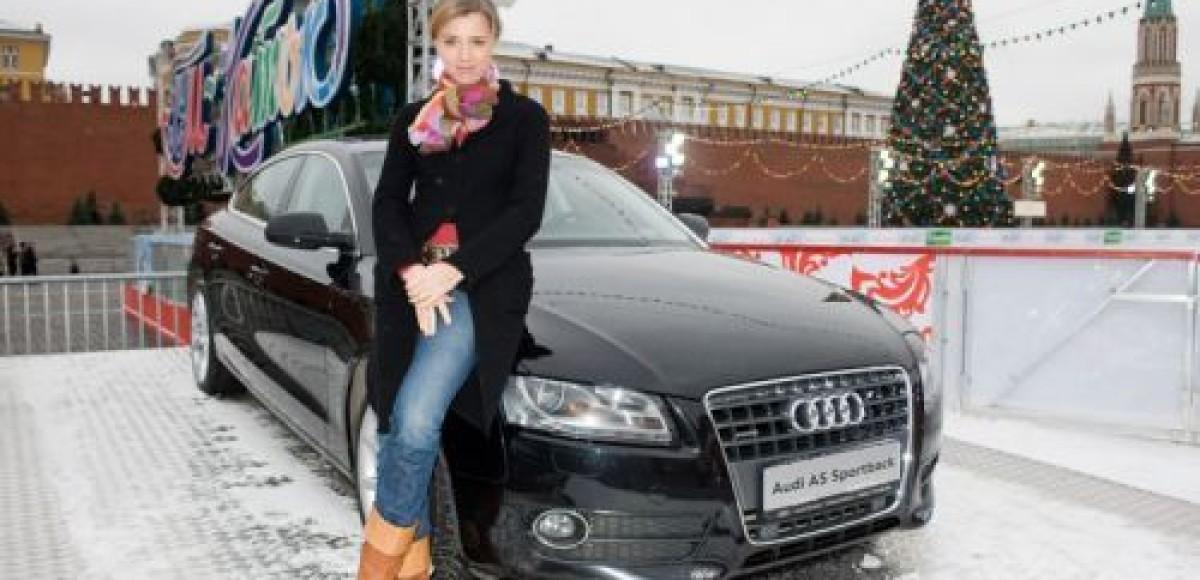 Audi Russia открыла ледовый сезон на Красной площади