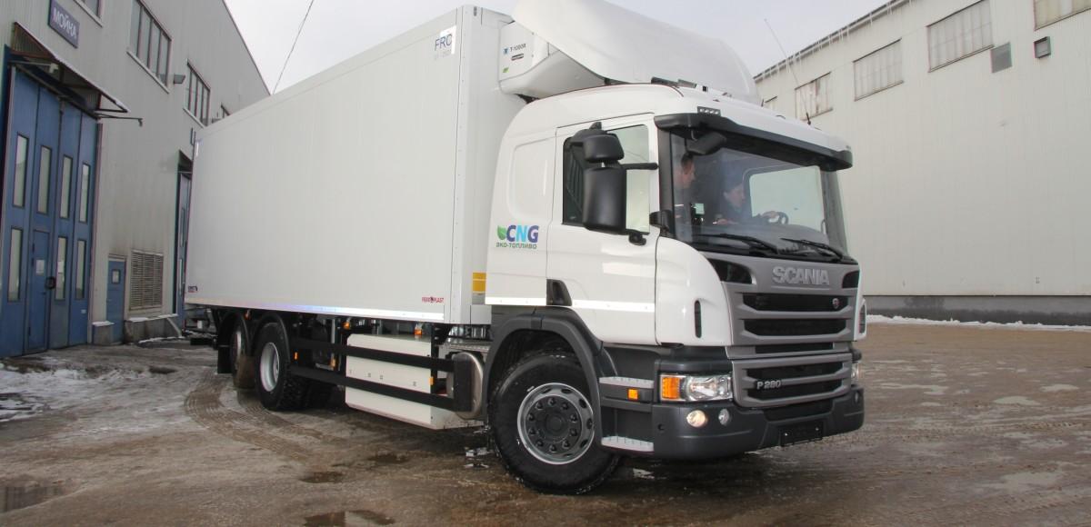 Выгодные перевозчики: грузовики на метане